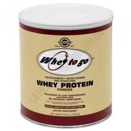 Whey To Go Solgar Proteína de suero en polvo sabor chocolate 1162 gr. - La proteína de suero en polvo Whey To Go de Solgar es una formulación científicamente avanzada de proteína con intercambio de iones, micro-filtrado e hidrolizado, L-Glutamina en forma libre y aminoácidos ramificados en forma libre (BCAA).