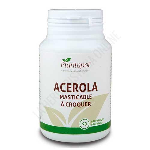 Acerola masticable Plantapol 90 comprimidos