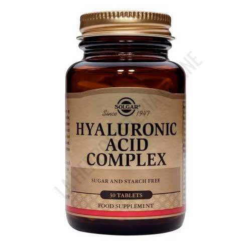 Ácido Hialurónico Complex Solgar 30 comprimidos