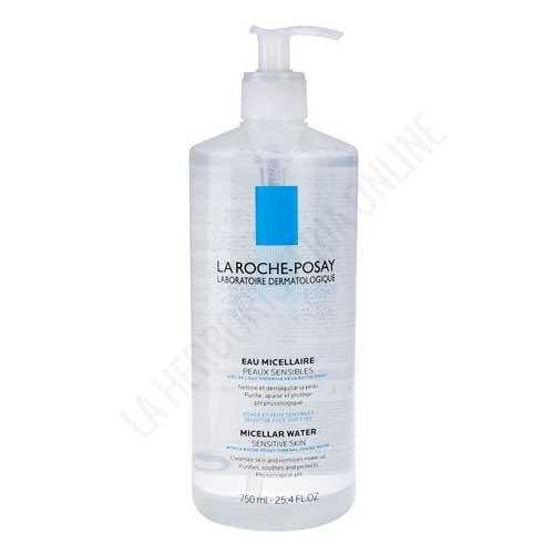 Agua Micelar Ultra desmaquillante suave pieles sensibles La Roche Posay 750 ml.