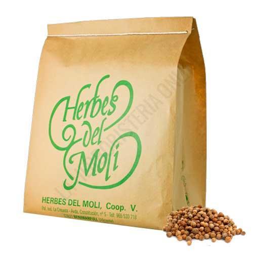 Cilantro semillas ecológicas Herbes del Molí 1 Kg.
