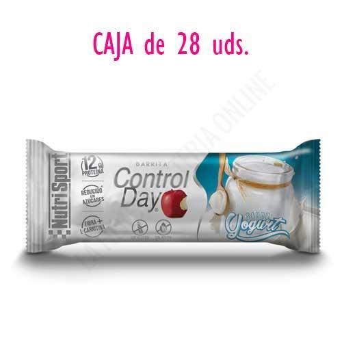 OFERTA Barritas ControlDay NutriSport sin gluten sabor Yogurt caja de 28 uds.