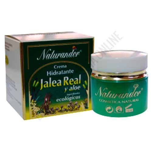 Crema facial hidratante y reparadora Jalea Real y Aloe Vera Naturandor Fleurymer 50 ml.