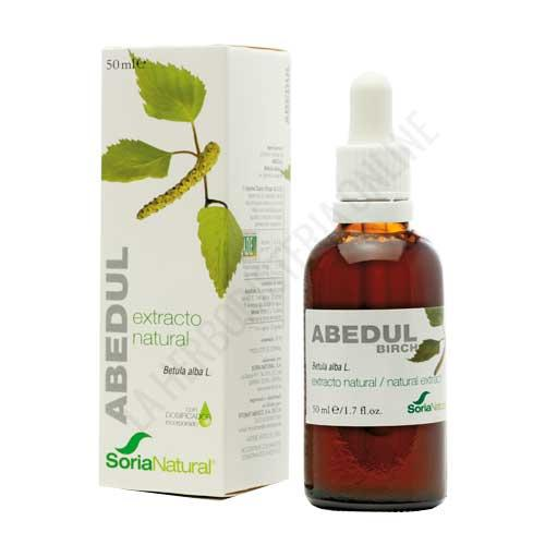 Extracto de Abedul XXI sin alcohol Soria Natural 50 ml. con dosificador -