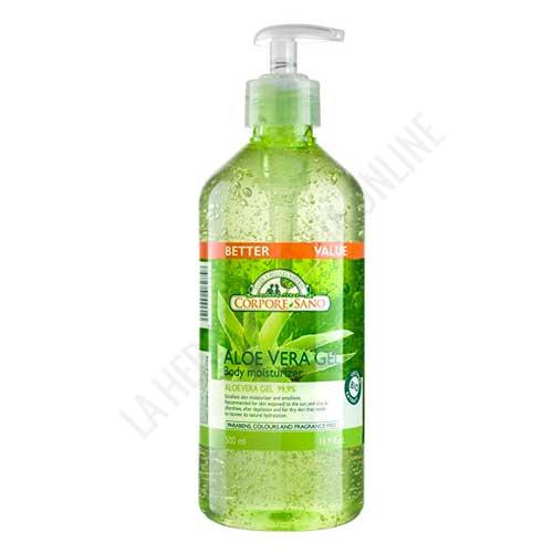 FORMATO AHORRO - Gel de Aloe Vera 99,9% BIO Corpore Sano 500 ml.