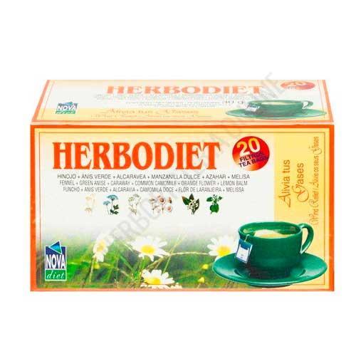 Herbodiet Alivia tus Gases Novadiet 20 infusiones
