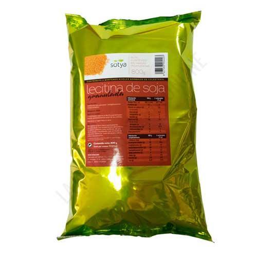 FORMATO AHORRO - Lecitina de soja Sotya bolsa 800 gr. - Lecitina de soja granulada Sotya en formato ahorro de 800 gr.