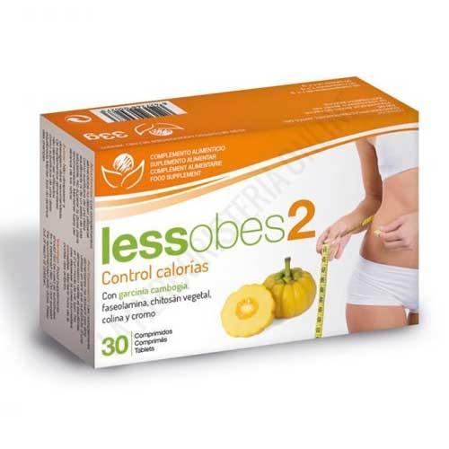 Lessobes 2 Control calorías Bioserum 30 comprimidos -