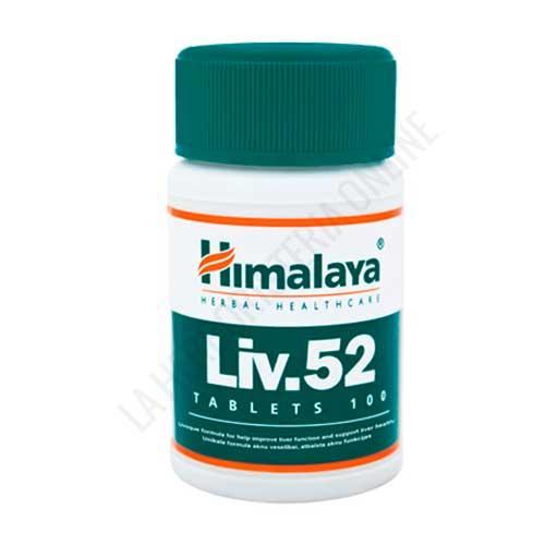 Liv52 Himalaya Herbals 100 comprimidos - Liv52 es una fórmula de la medicina ayurveda especialmente utilizada para preservar las funciones del hígado.