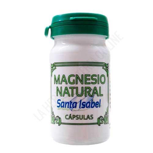Magnesio Natural Santa Isabel 90 cápsulas - Las Sales de Magnesio Natural Santa Isabel se extraen por evaporación de las aguas de la laguna de La Higuera. 100% Natural directamente extraído de antiguo balneario de San José.