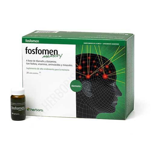 Fosfomen Memory con Klamath Herbora 20 viales