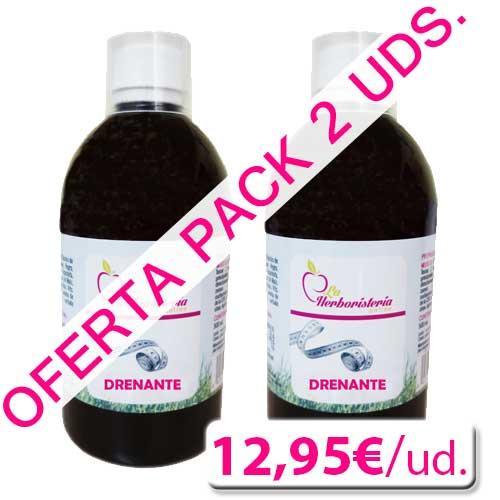 OFERTA - Pack 2 uds. Drenatina La Herboristeria Online 500 ml.