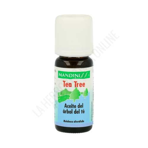 OFERTA Aceite esencial Árbol Te tea tree 100% natural australiano Mandini 10 ml.