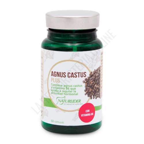 Agnus Castus Plus vitex sauzgatillo Naturlider 60 cápsulas vegetales