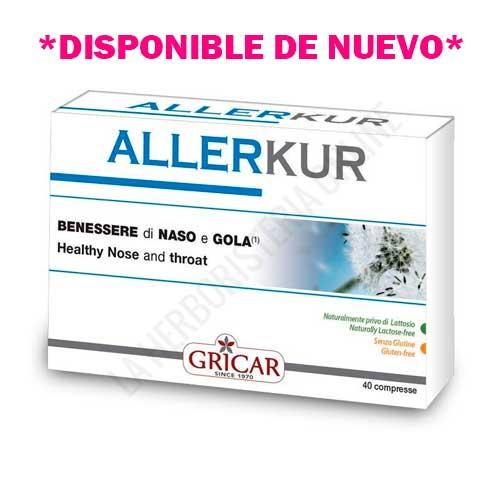 OFERTA Allerkur Alergias Gricar 40 comprimidos