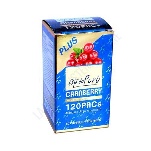 OFERTA Cranberry Plus Estado Puro Arandano Rojo Americano 120 PACs Tongil 40 cápsulas vegetales