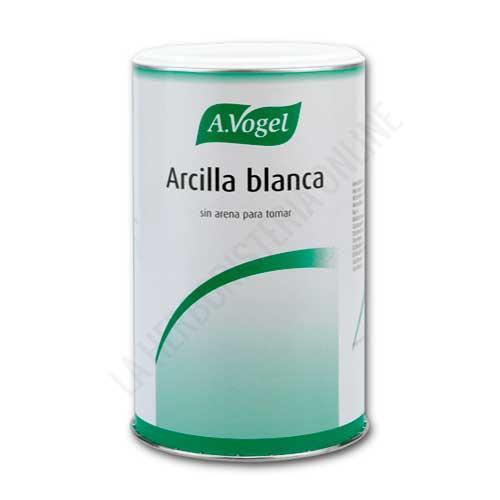 Arcilla blanca uso interno A. Vogel 400 gr. - La Arcilla Blanca de A. Vogel es un suplemento natural especialmente preparado para uso interno (viene filtrada). Útil en caso de molestias estomacales (acidez, gastritis...).