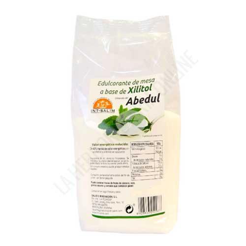 Azucar de Abedul Xilitol Intsalim 1 Kg. - El Azúcar de Abedul Int-Salim es un edulcorante de sabor, uso, dosificación y aspecto muy similar al azúcar común pero con un índice glucémico muy bajo (8) y un 40% menos de calorías que el azúcar común. Resulta perfectamente adecuado para sustituir el azúcar blanco de mesa.