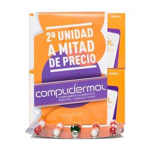 PACK DUPLO Complidermol Piel, Cabello y Uñas Medea 50 cápsulas x2