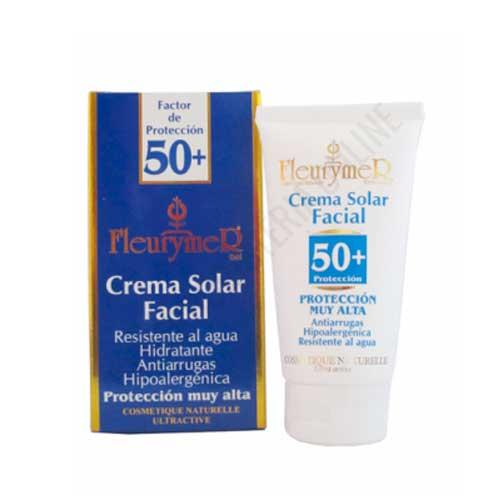 Crema solar facial Anti-Arrugas FPS 50+ Fleurymer 80 ml.