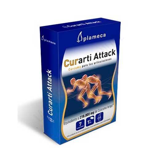OFERTA Curarti Attack Cúrcuma Longa normalizada Plameca 7 comprimidos