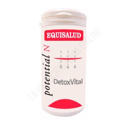 Detoxvital Potential N Equisalud 60 cápsulas - Detoxvital Potential N de Equisalud aporta un refuerzo extra para que el organismo pueda realizar su función depurativa. A base de plantas, minerales y vitaminas.