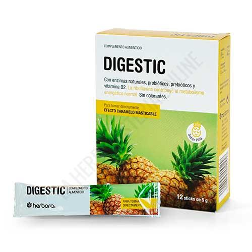 Digestic alivio digestivo listo para tomar Herbora 12 sticks