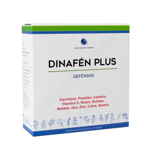 OFERTA Dinafen PLUS (Dinafen 12) fórmula reforzada con oligoelementos Dinadiet 20 viales