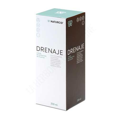 Drenaje Naturcid 250 ml. - Drenaje de Naturcid, a base de extractos de plantas, resulta ideal para un efecto Detox completo. Ayuda a la depuración y eliminación de líquidos, a mejorar la función del tránsito intestinal y a una correcta digestión.