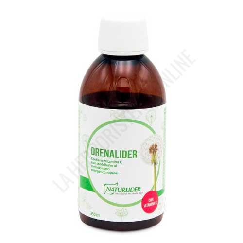 OFERTA Drenalider líquido Naturlider 250 ml. - Drenalíder de Naturlíder es un muy buen aliado para conseguir depurar el organismo en caso de retención de líquidos, gracias al efecto depurativo y drenante de su composición, a base de extractor naturales.