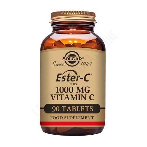 Ester C Plus 1000 mg. vitamina C Solgar 90 comprimidos