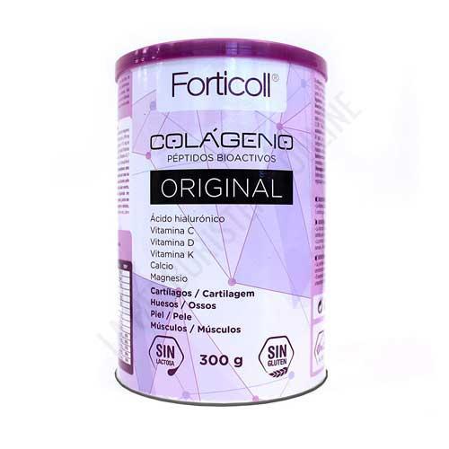 OFERTA DEL MES - Forticoll Colágeno Bioactivo, Ácido Hialurónico, Vitaminas y Minerales Almond 300 g
