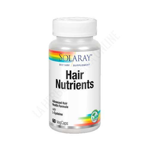 Hair Nutrients con L-Cisteína Solaray 60 cápsulas
