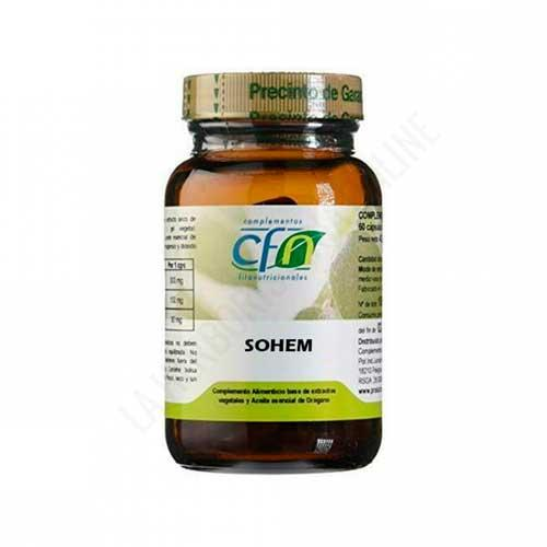 Sohem hierro y vitaminas CFN 60 cápsulas