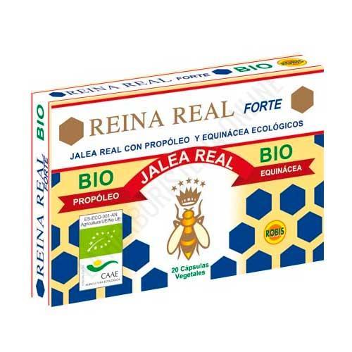 Reina Real Forte BIO Jalea Real Ecológica con Propoleo y Echinacea Robis 20 cápsulas