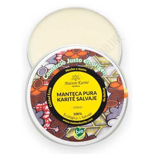 Manteca de Karité 100% Salvaje Pura y Hecha a Mano Maison Karite 200 ml. -
