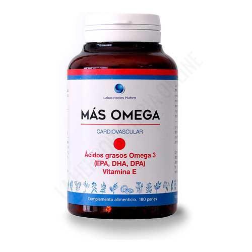 Más Omega 3 punto rojo Mahen 180 perlas