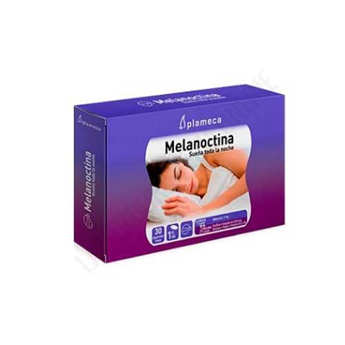 Melanoctina Sueña toda la noche Plameca 30 comprimidos bicapa