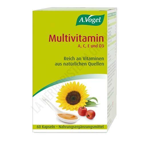 Multivitamin A, C, D y E A. Vogel 60 perlas