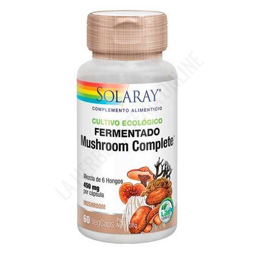 Mushroom Complete Solaray 60 cápsulas -