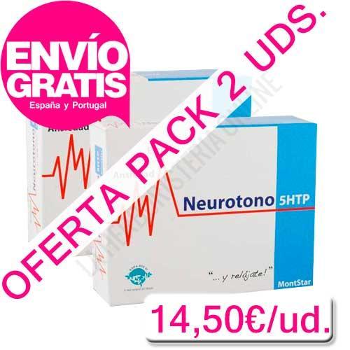OFERTA 2 uds. Neurotono 5-HTP Montstar Espa Diet 45 cápsulas