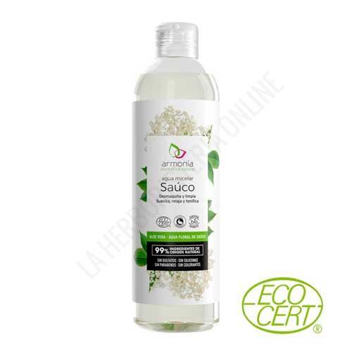 NUEVA Agua limpiadora Micelar Sauco BIO Armonia 300 ml.