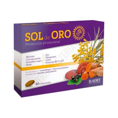 NUEVO Sol de Oro protección primaveral Eladiet 30 comprimidos