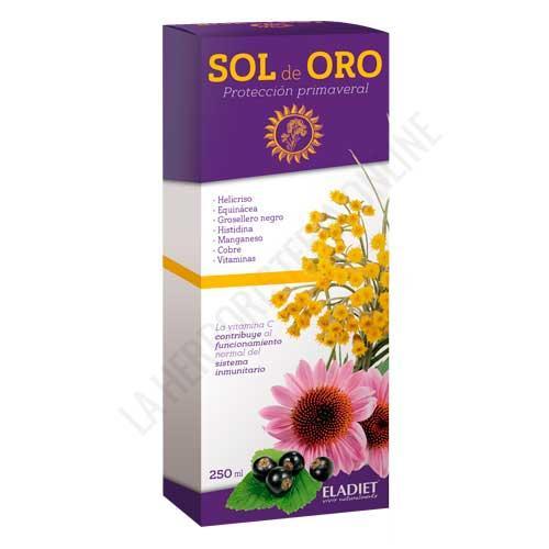 NUEVO Sol de Oro protección primaveral (antes Sol de Oro Plus) Eladiet 250 ml.