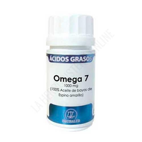 Omega 7 1000 mg. Aceite Bayas Espino Amarillo Equisalud 40 cápsulas