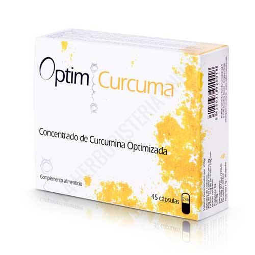 Optim Curcuma concentrado de curcumina optimizada 45 cápsulas -