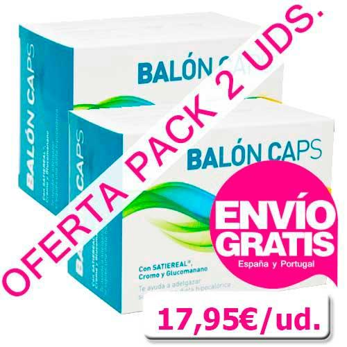 OFERTA PACK 2 uds. Balón Caps con Satiereal® efecto saciante Diet Clinical 60 cápsulas