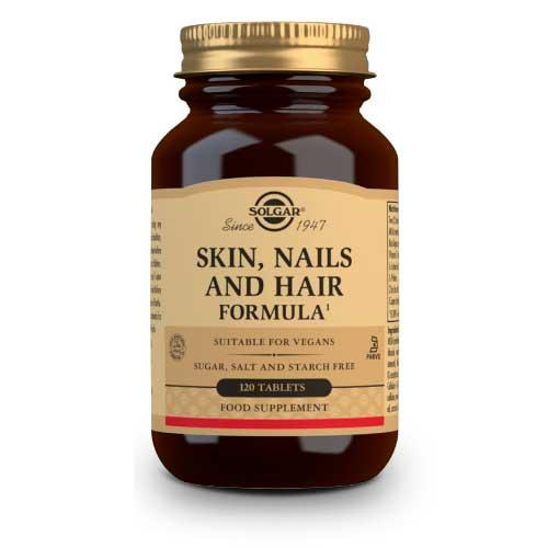 Skin, Nails and Hair Formula Solgar 120 comprimidos -
