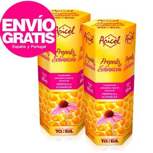 OFERTA 2 uds. Apicol extracto de Própolis + Echinácea Tongil 60 ml.