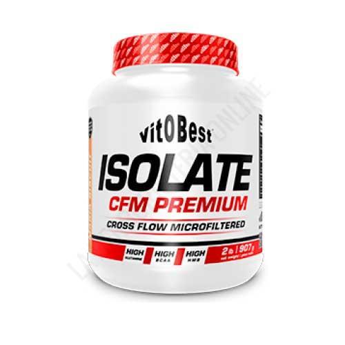 Proteína Isolada Isolate CFM Premium VitObest Sabor vainilla 907 gr.